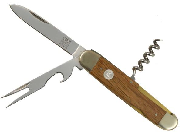 Güde Alpha Faßeiche Taschenmesser mit Pitchgabel E725/07 - 7 cm