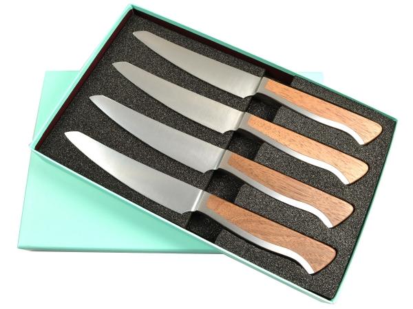 Güde Caminada *4-AC-1V/14 Steakmesserset mit Sägeverzahnung